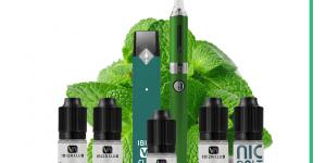 menthol bundle + free spearmint e-liquid offer