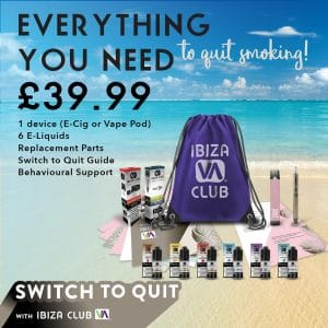 quit smoking and switch to vaping beginner vape kit