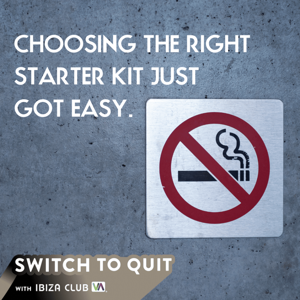 Switch to quit the best beginner vape kit on the market